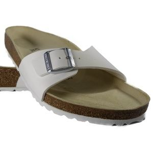 Birkenstock Madrid BS (White) [0040731]